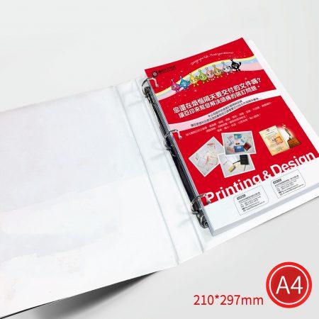 打孔裝卡匣:彩色/A4/單面列印