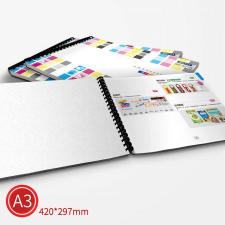 膠環:彩色/A3/單面列印
