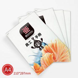 平釘:彩色/A4/單面列印