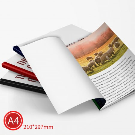 精緻邊條:彩色/A4/單面列印