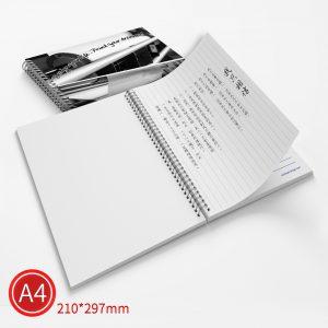 雙線圈:黑白/A4/單面列印