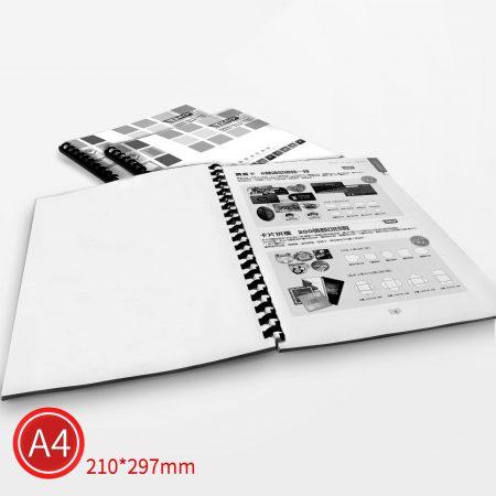 膠環:黑白/A4/單面列印