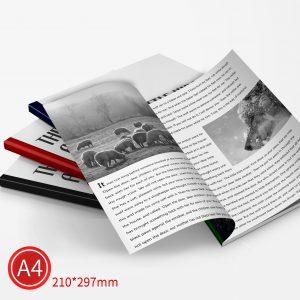 精緻邊條:黑白/A4/雙面列印