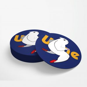 圓形陶瓷吸水杯墊