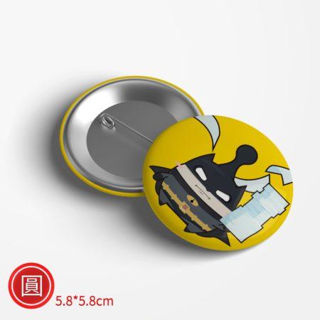 圓形胸章-5.8x5.8cm