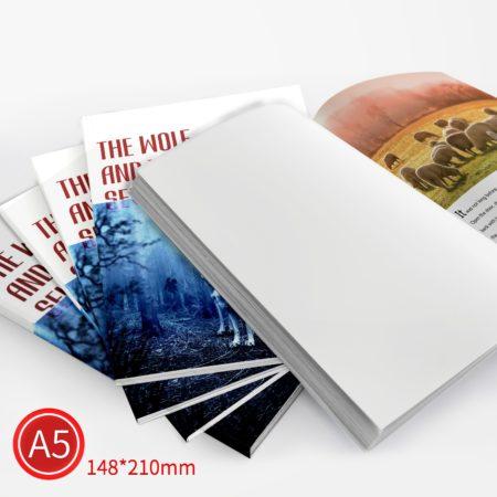 膠裝:彩色/A5/單面列印