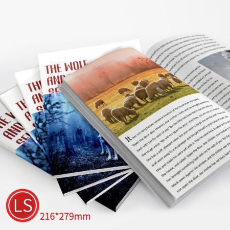 膠裝:彩色/LS/雙面列印