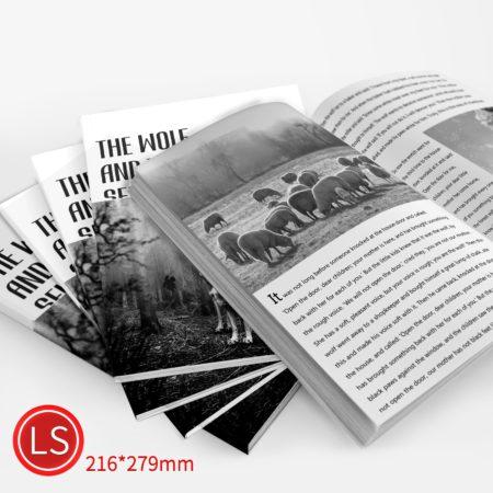 膠裝:黑白/LS/雙面列印