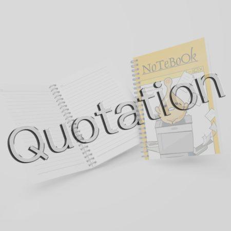 筆記本:諮詢與報價